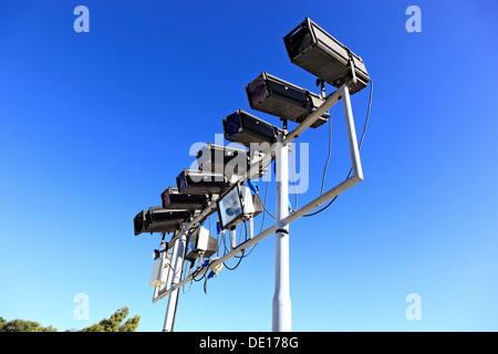 Voyants lumineux, éclairage, Banque D'Images
