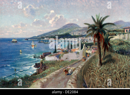 Géographie / voyage, Portugal, île de Madère, Funchal, voir l'art, carte postale, années 1920, Additional-Rights Banque D'Images