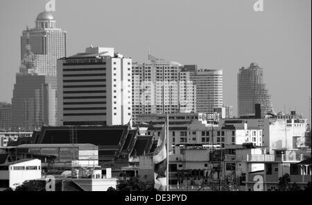Skyline de Bangkok Banque D'Images