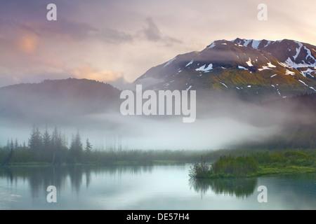 Kenai Fjords National Park, péninsule de Kenai, Alaska, États-Unis d'Amérique Banque D'Images