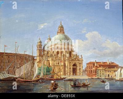 """L'église Santa Maria della Salute"", 19e siècle. Artiste: Victor Adam Banque D'Images"