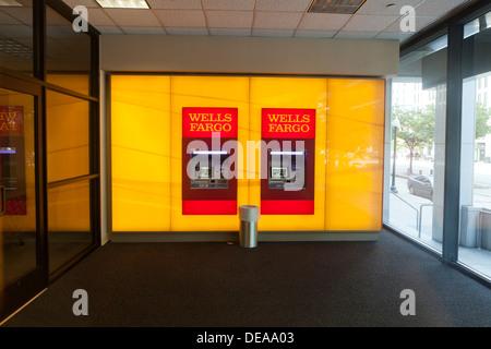 Wells Fargo ATM Banque D'Images