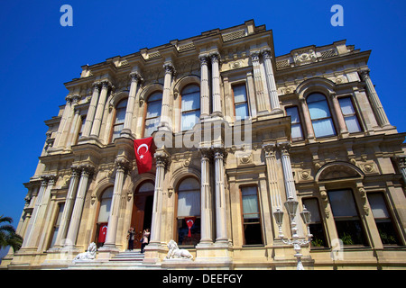 Palais Beylerbeyi, Istanbul, Beylerbeyi, Anatolie, l'Asie mineure, la Turquie, l'Eurasie Banque D'Images