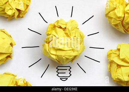 Bonne idée Banque D'Images