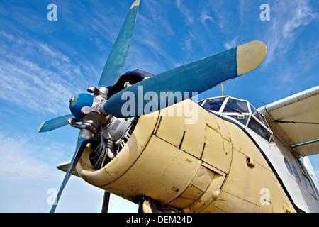67e4ecb36fe9 Avion ancienne Banque D Images, Photo Stock  60677021 - Alamy