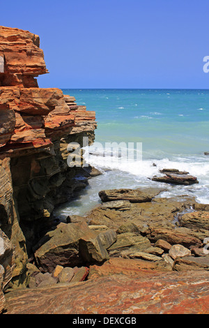 Point Gantheaume Broome Australie occidentale du Nord Banque D'Images