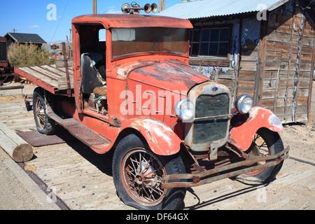 Vieux camion à Toulon, Nevada