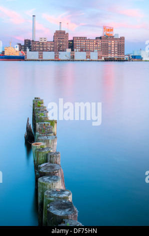 Domino Sugar Factory, Baltimore, MD Banque D'Images