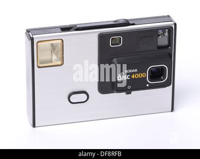 Ancienne rétro vintage appareil photo Kodak disc 4000 Banque D'Images