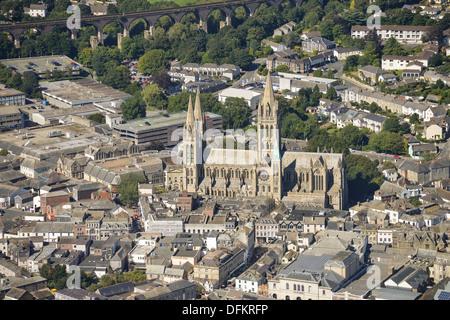 Photographie de la cathédrale de Truro Banque D'Images
