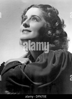 NORMA SHEARER (1902-1983) Actrice canado-américaine Banque D'Images