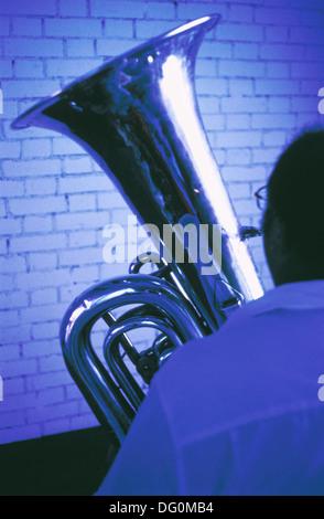 Tuba Banque D'Images