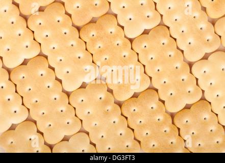 La texture de fond closeup Cookies Banque D'Images