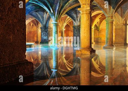 En citerne la forteresse portugaise d'El Jadida, Maroc, Afrique Banque D'Images