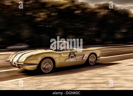 Corvette, voiture classique, la manipulation d'image, Berlin