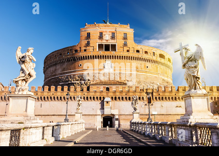 Sant'Angelo fortress, Rome Banque D'Images