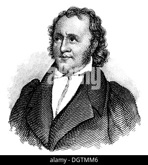 Jean Paul ou Johann Paul Friedrich Richter, 1763 - 1825, un écrivain allemand,