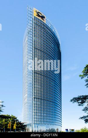 La tour de la poste, le siège de Deutsche Post AG, DHL et Postbank, Bonn, Rhénanie du Nord-Westphalie, Allemagne,