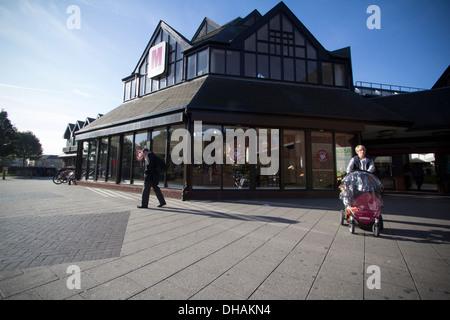 Le centre commercial centre commercial de Walthamstow London UK Banque D'Images