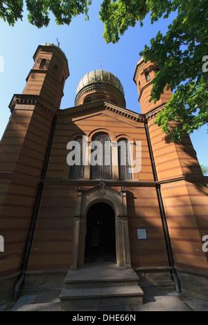 Chapelle Orthodoxe russe dans le cimetière historique, Weimar, Thuringe, Allemagne Banque D'Images