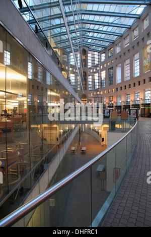 Canada, Vancouver, Bibliothèque publique, Banque D'Images