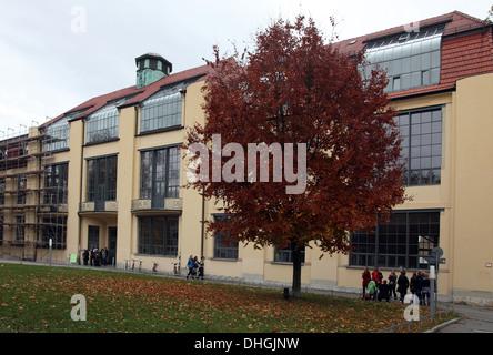 L'Université Bauhaus à Weimar une fois que l'École de Bauhaus de l'art conçu par Henry van de Velde Banque D'Images