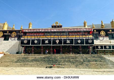 Drepung à Lhassa Tibet Chine Banque D'Images