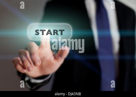 Démarrer une nouvelle entreprise, concept Banque D'Images
