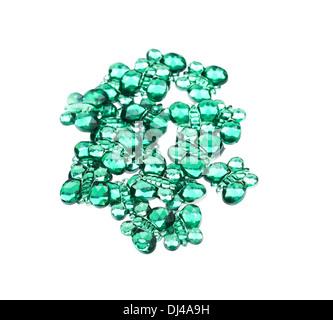 Collection de plusieurs perles Banque D'Images