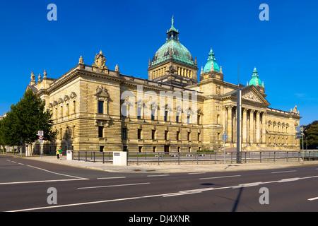 Le Tribunal administratif fédéral de Leipzig, Saxe, Allemagne Banque D'Images