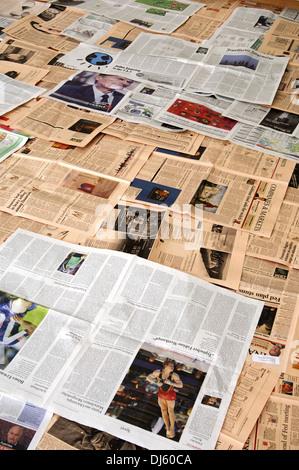 La presse Banque D'Images