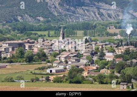Village De Vallon Pont D Arc En Ardeche France Banque D