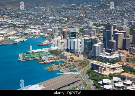 Honolulu, Oahu, Hawaii Banque D'Images