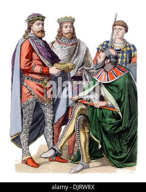 6ème siècle VI 500s'est de l'Empire romain byzantin Jean VI Cantacuzène Banque D'Images