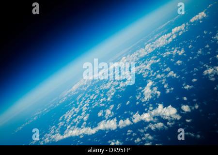 La terre de l'espace Banque D'Images