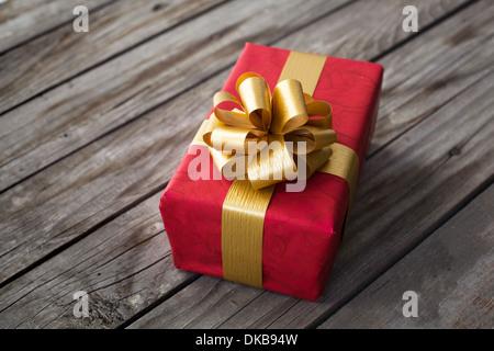 Cadeau pour la saint valentin ou Noël Banque D'Images