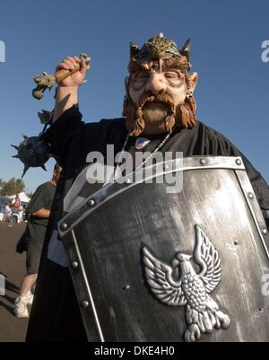 Aug.18, 2007 - San Francisco, Californie, États-Unis - San Francisco 49ers vs Oakland Raiders à Bill Walsh champ. Banque D'Images