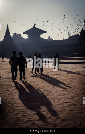 Durbar Square, Bhaktapur, UNESCO World Heritage Site, Népal, Asie Banque D'Images