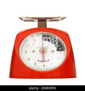 Vintage 1960 Salter 'Duet' manual balances de cuisine Banque D'Images