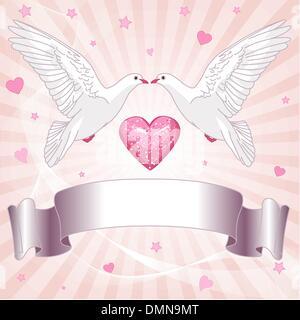 Arrière-plan de mariage Banque D'Images