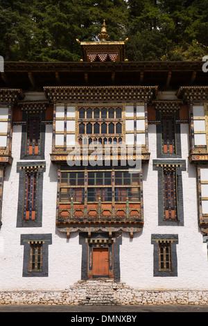 Le Bhoutan, la vallée de Bumthang, Kurjey Lhakang, monastère Sampalundrup middle temple Banque D'Images