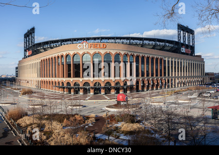 Citi Field, domicile de l'équipe de baseball des New York Mets, Flushing Meadows, Queens, New York Banque D'Images