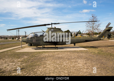 1re Division de cavalerie, Musée Ft Hood au Texas Banque D'Images