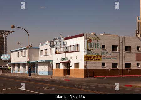 Hôtel Edens sur South 6th Street au centre-ville de Las Vegas, Nevada, USA Banque D'Images