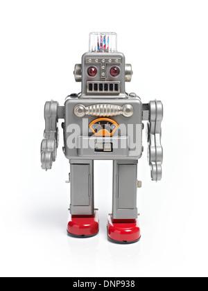Walking Robot jouet rétro Banque D'Images
