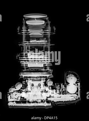 Appareil photo reflex numérique, X-ray Banque D'Images