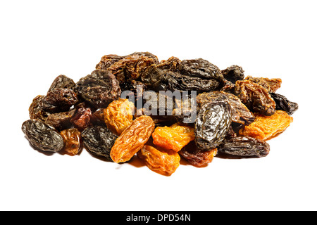 Sur fond blanc aux raisins