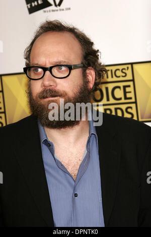 9 janvier 2006 - Santa Monica, Californie, USA - PAUL GIAMATTI -.Le 11ème Critics Choice Awards annuels -.SANTA Banque D'Images