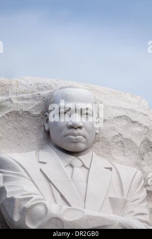 Martin Luther King, Monument à Washington, DC Banque D'Images