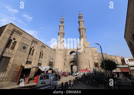 Porte du Caire ( bab zuweila) El Metwaly Gate Banque D'Images